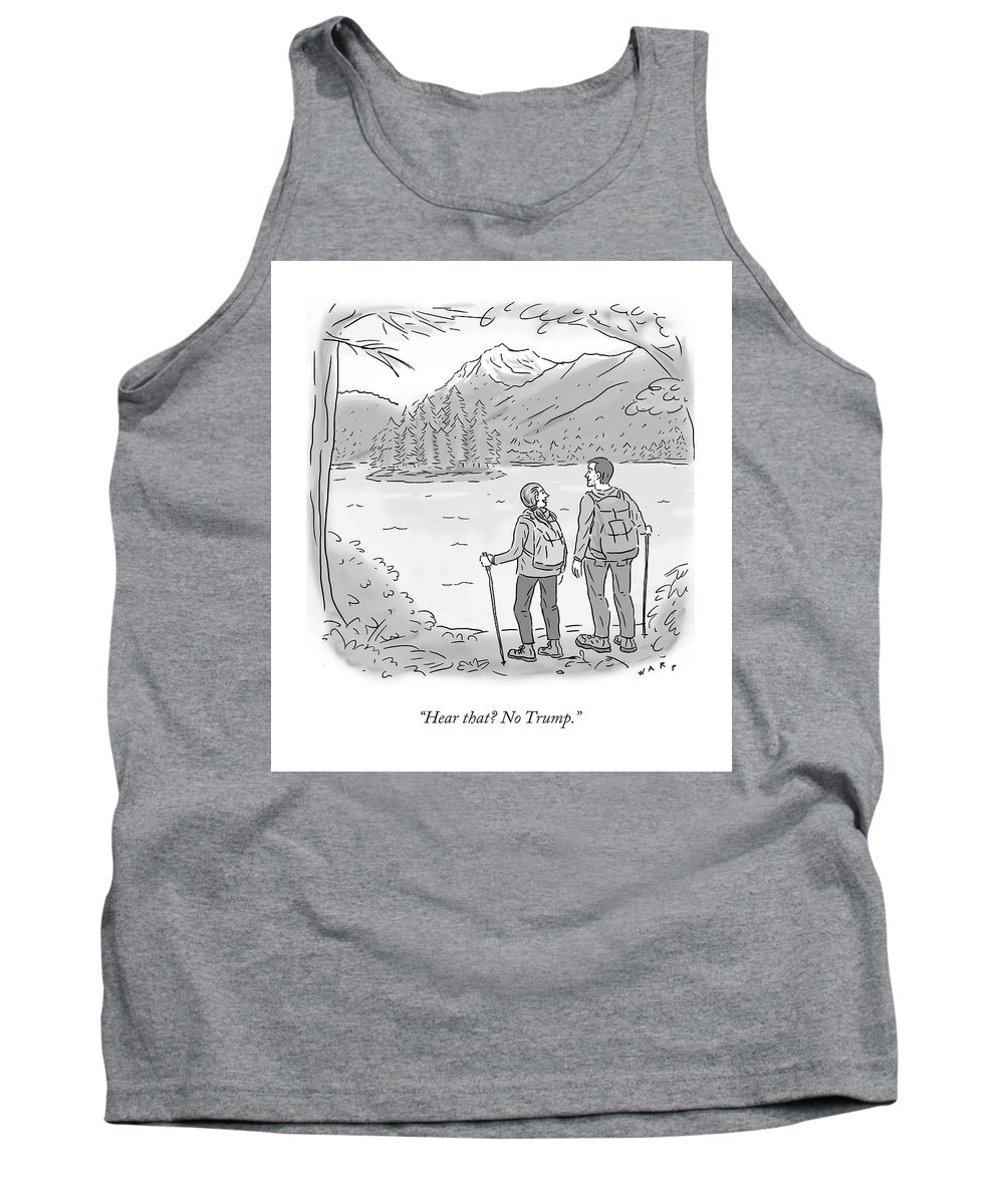 278c1fc9dce70 Peaceful Hikers Tank Top for Sale by Kim Warp