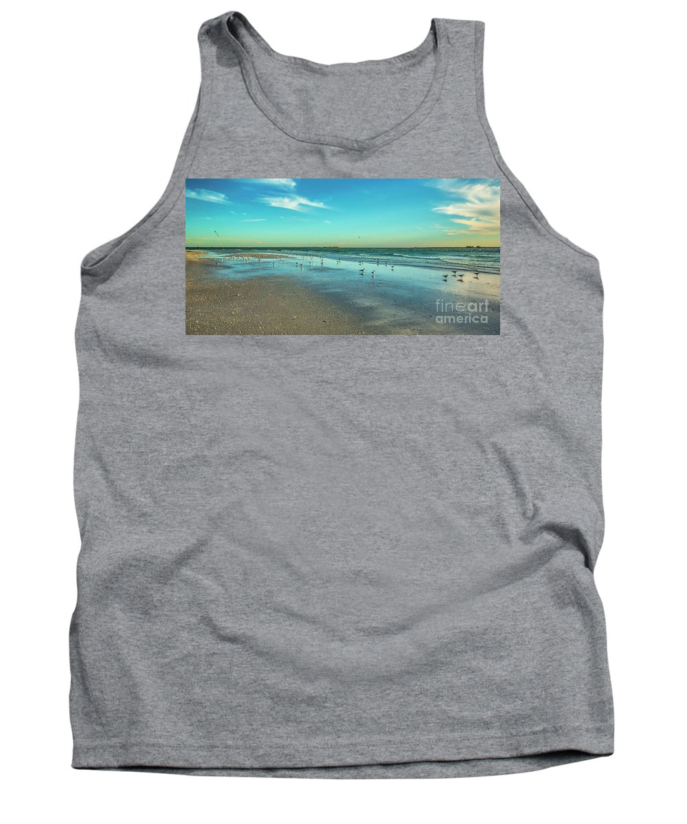 Peaceful Rest Tank Top featuring the photograph Peaceful Rest by Felix Lai