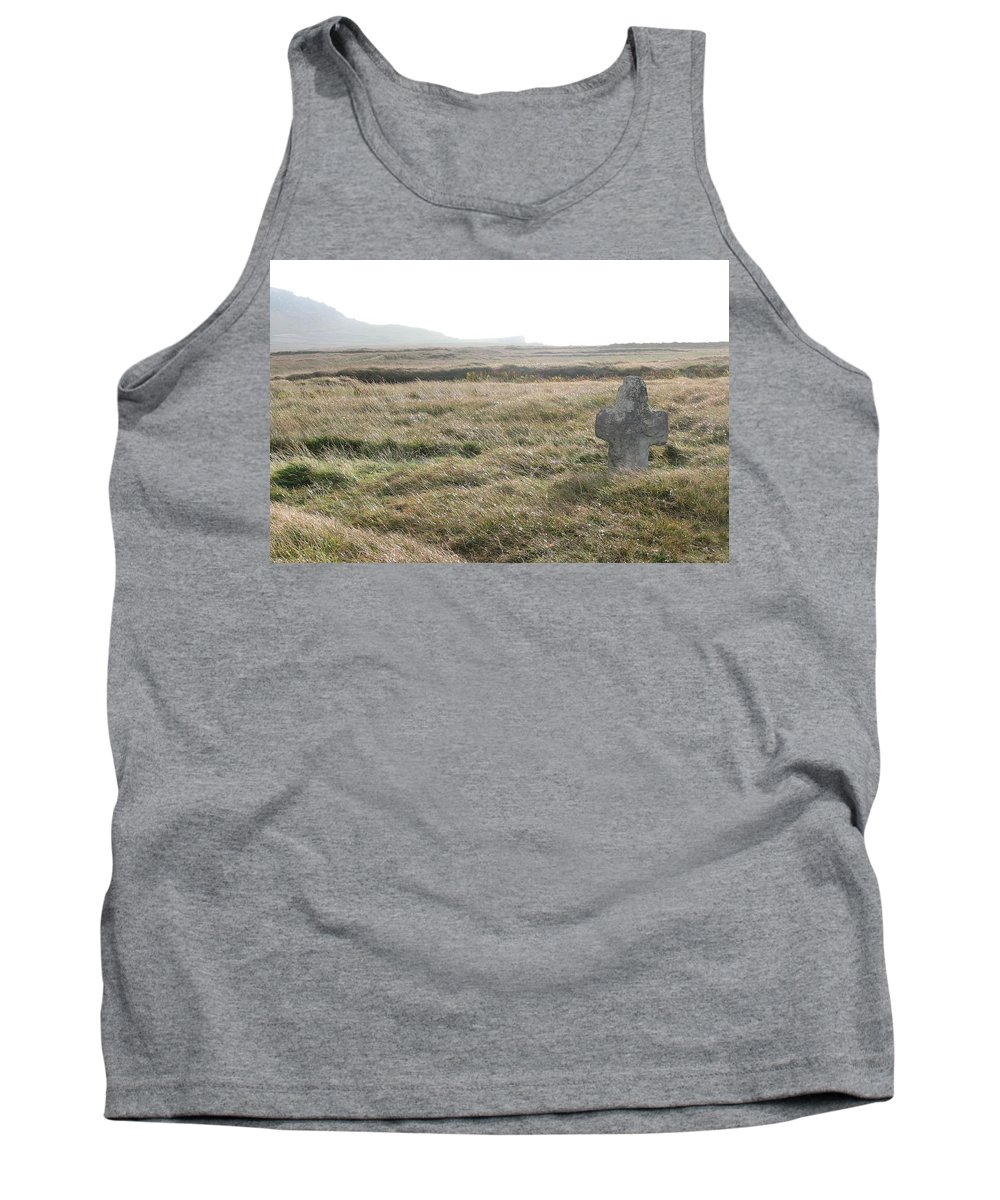 Midievil Tank Top featuring the photograph Peaceful Rest by Kelly Mezzapelle
