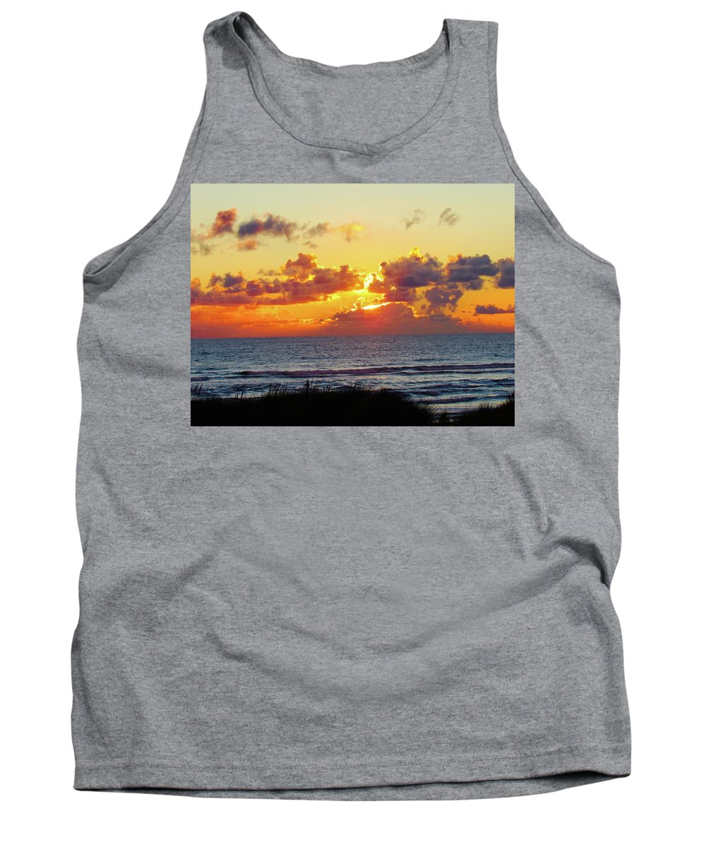 Tank Top featuring the photograph Perfect Sunset Cannon Beach I by Ryan Crandall