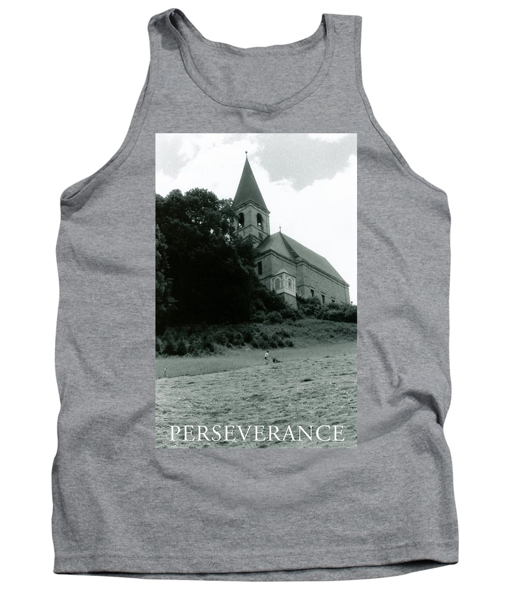 Church Tank Top featuring the photograph Perseverance by Michelle Calkins