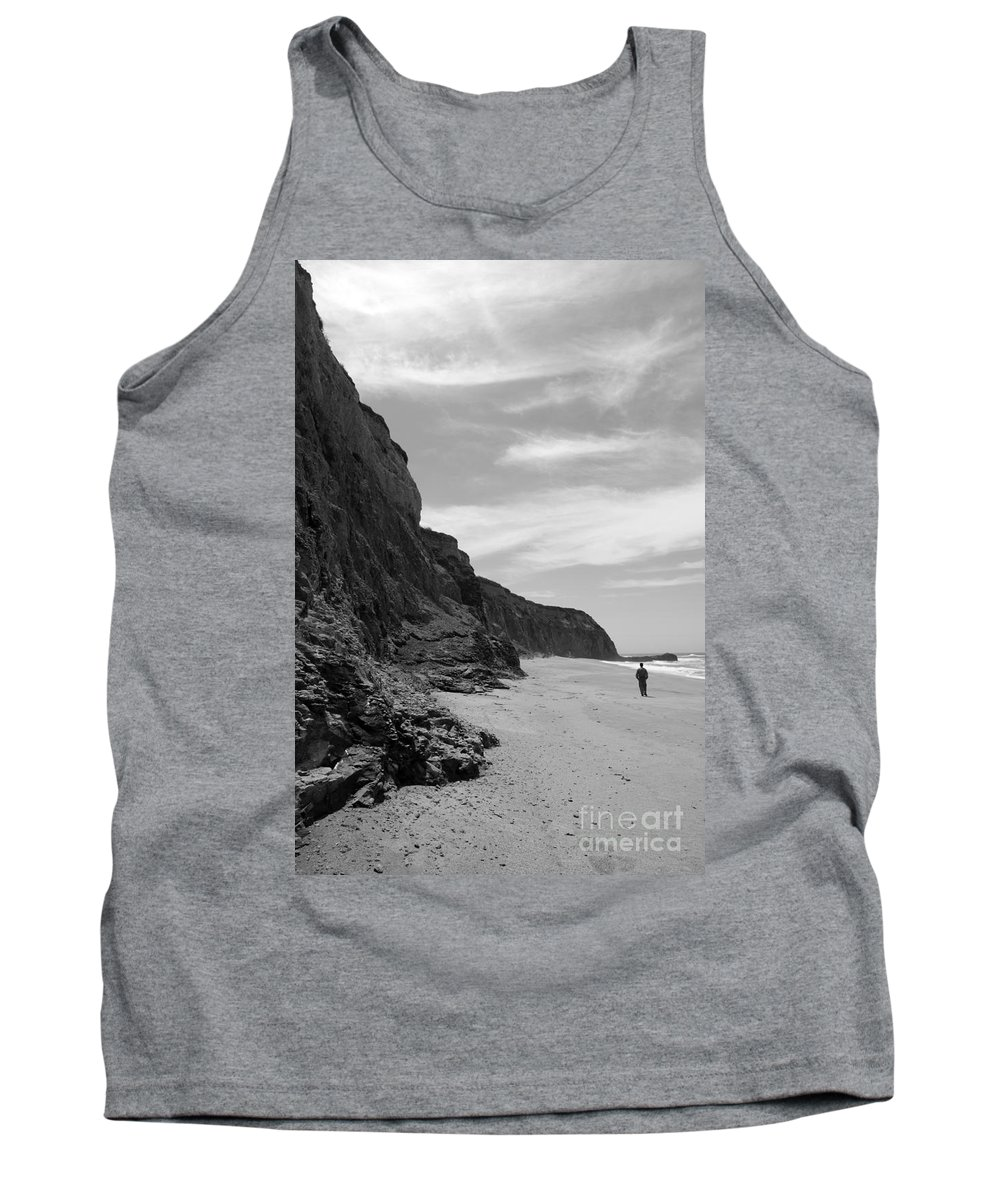 Coast Tank Top featuring the photograph Perspective by Amanda Barcon