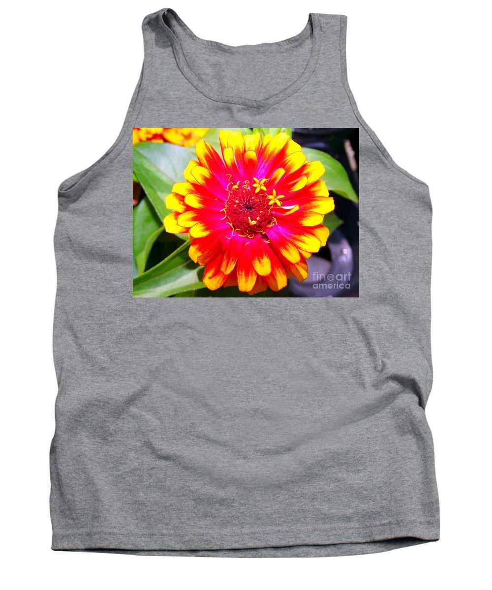 Flowers Tank Top featuring the photograph Petal Pop by Ed Weidman