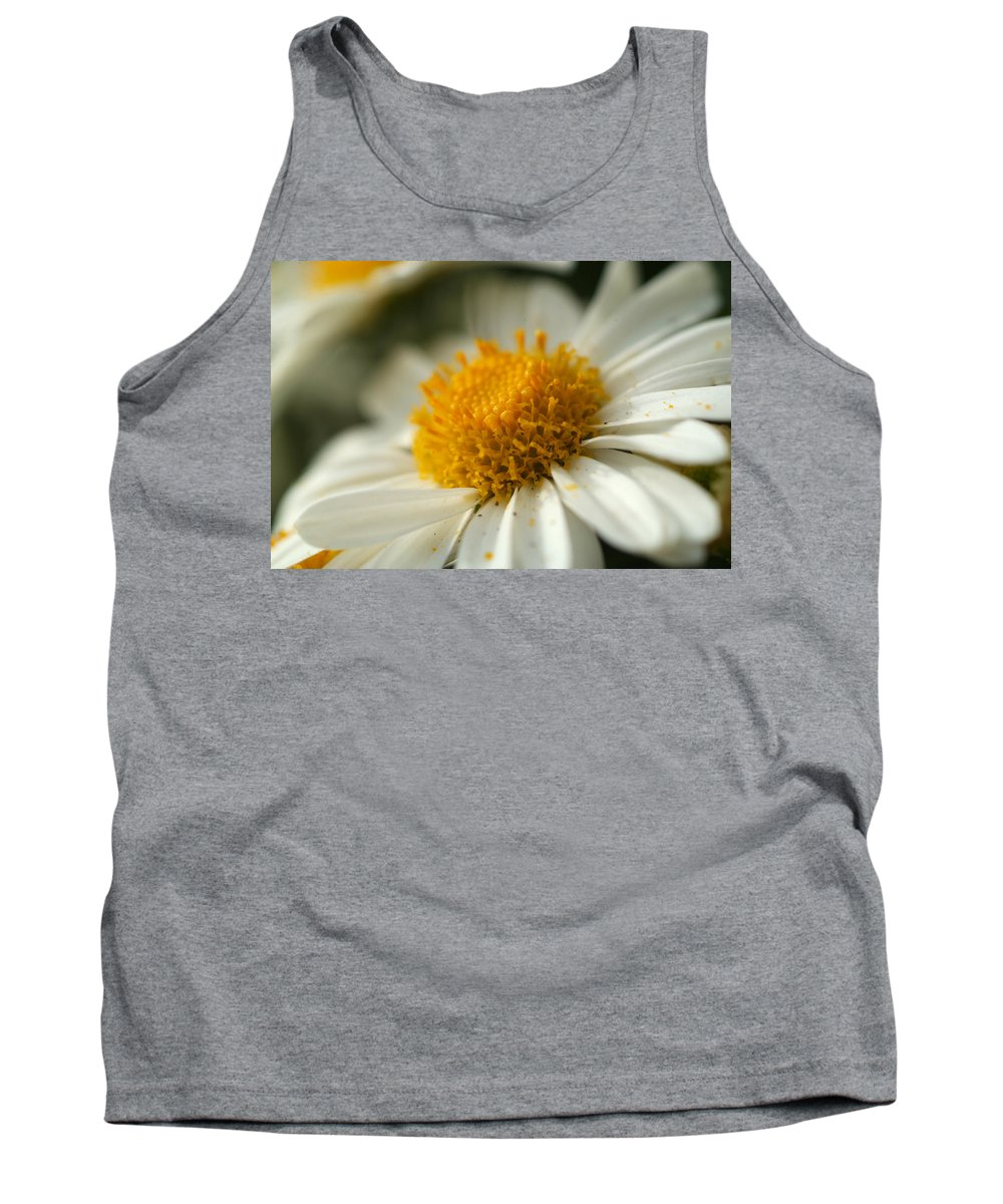Flower Tank Top featuring the photograph Petals And Pollen by Michael McGowan