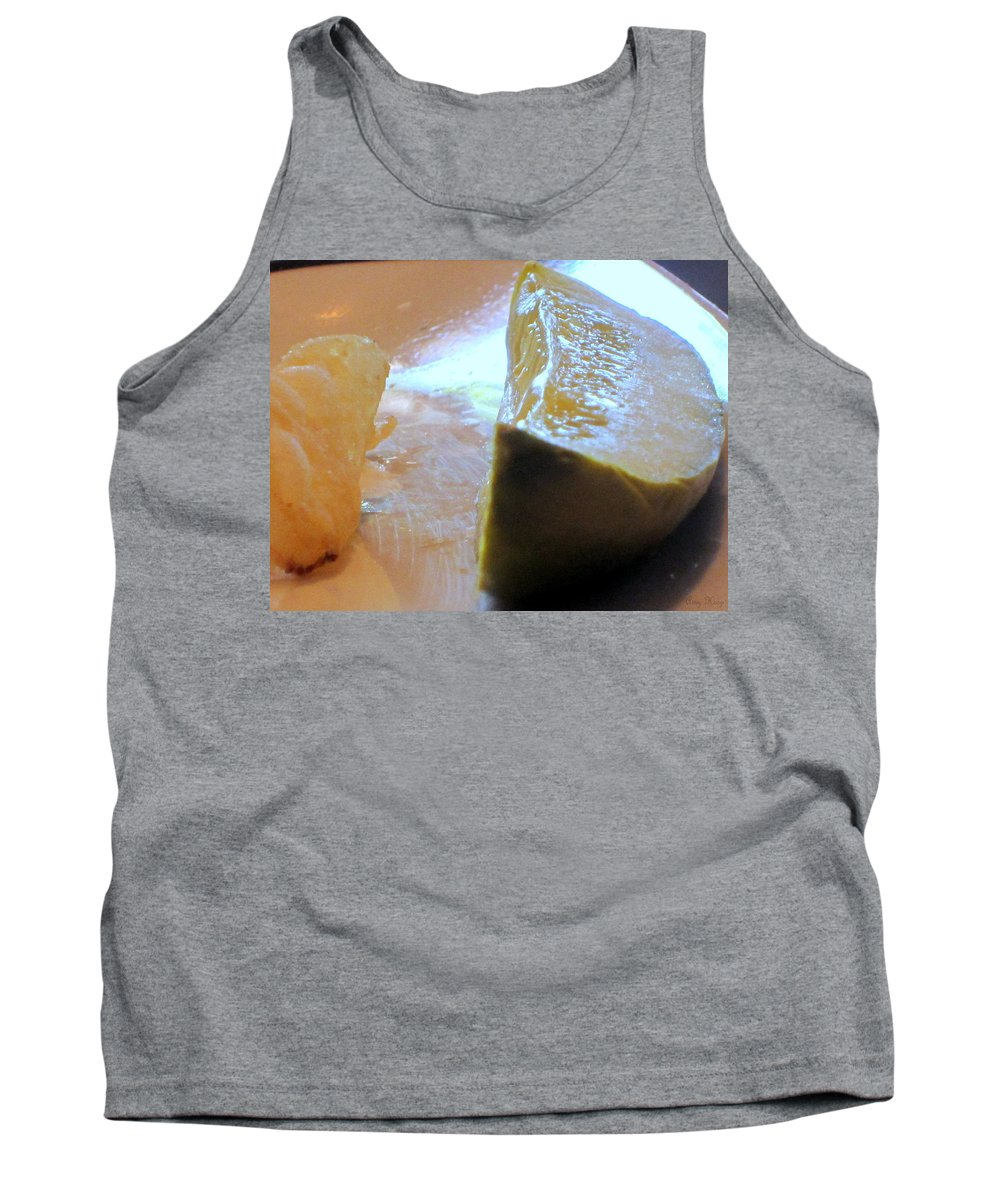 Pickles Tank Top featuring the photograph Pickle by Amy Hosp