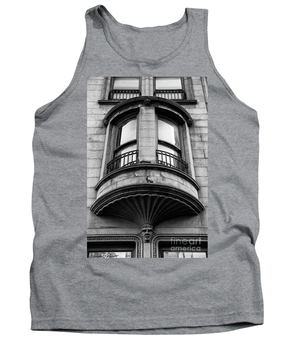 Symmetry Tank Top featuring the photograph Pigeon by Edi Chen
