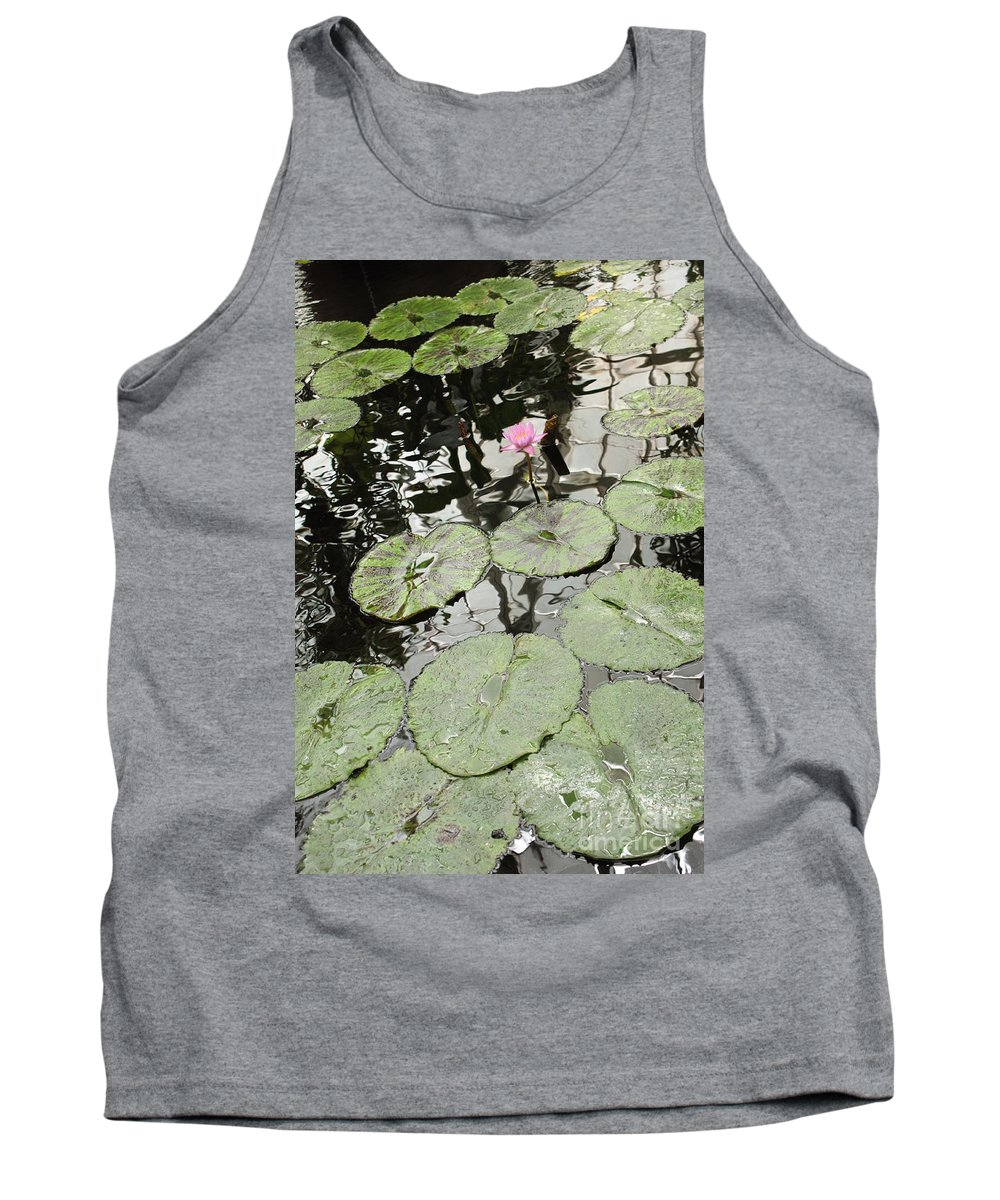 Ond Tank Top featuring the photograph Pink Water Lily by Carol Groenen