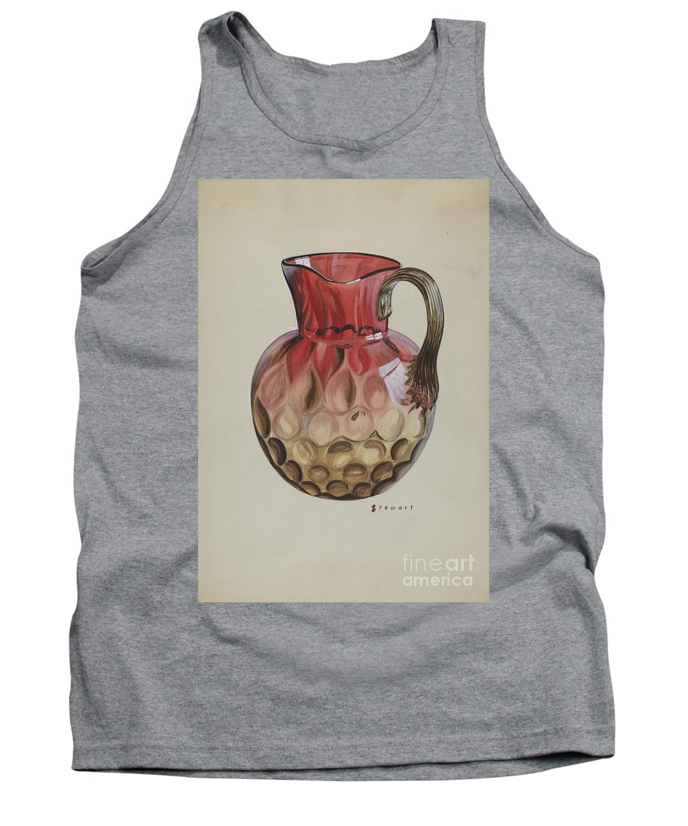 Tank Top featuring the drawing Pitcher by Robert Stewart