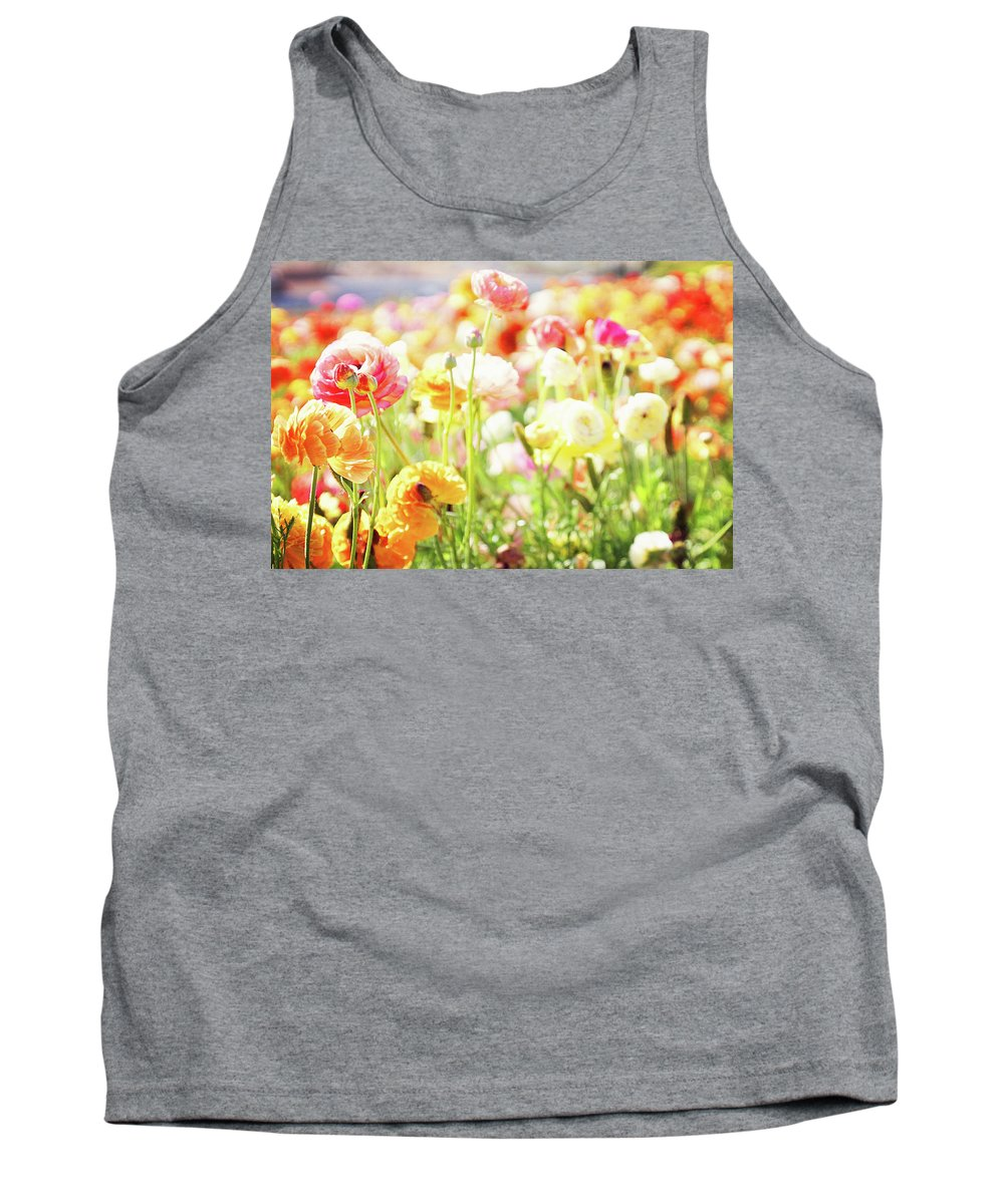 Poppy Tank Top featuring the photograph Poppies 3 by Megan Swormstedt