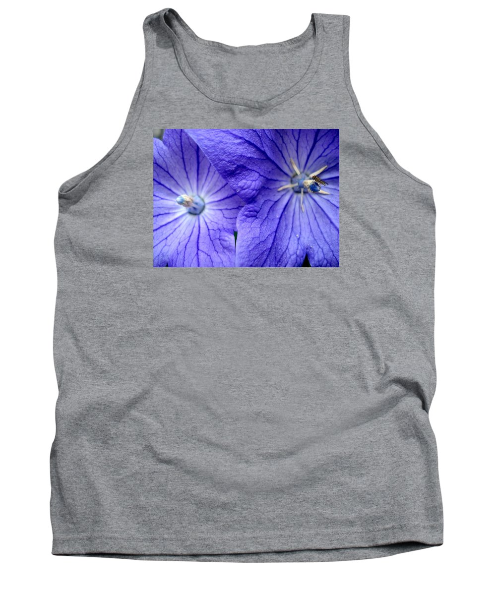 Flowers Tank Top featuring the photograph Powder 2 by Nelson F Martinez