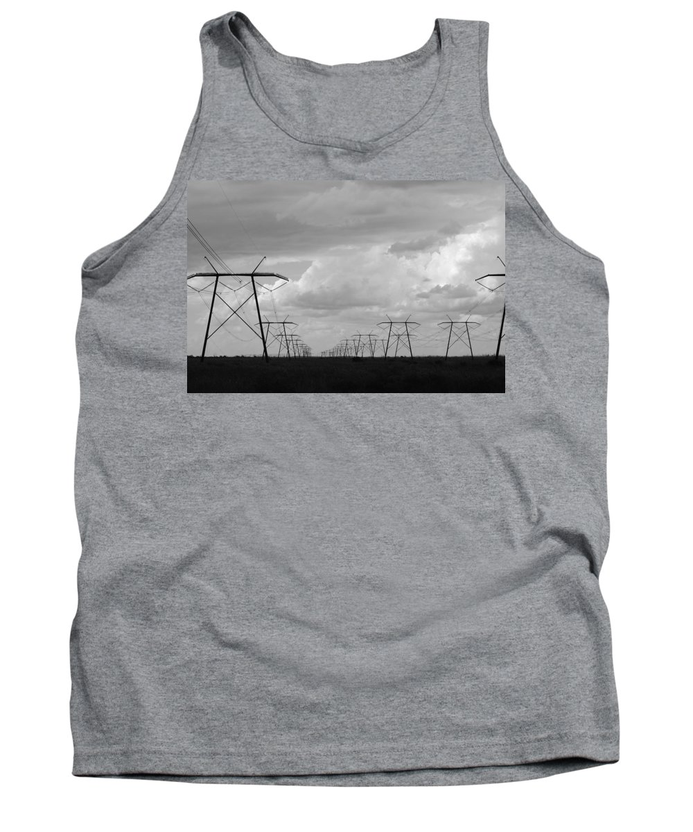 Sky Tank Top featuring the photograph Power In The Sky by Rob Hans