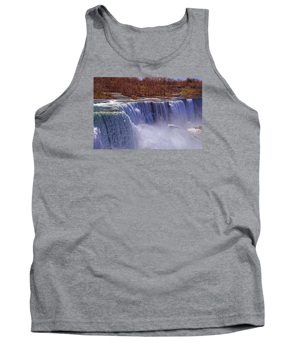 Water Tank Top featuring the photograph Powerful by Michelle Neidigh