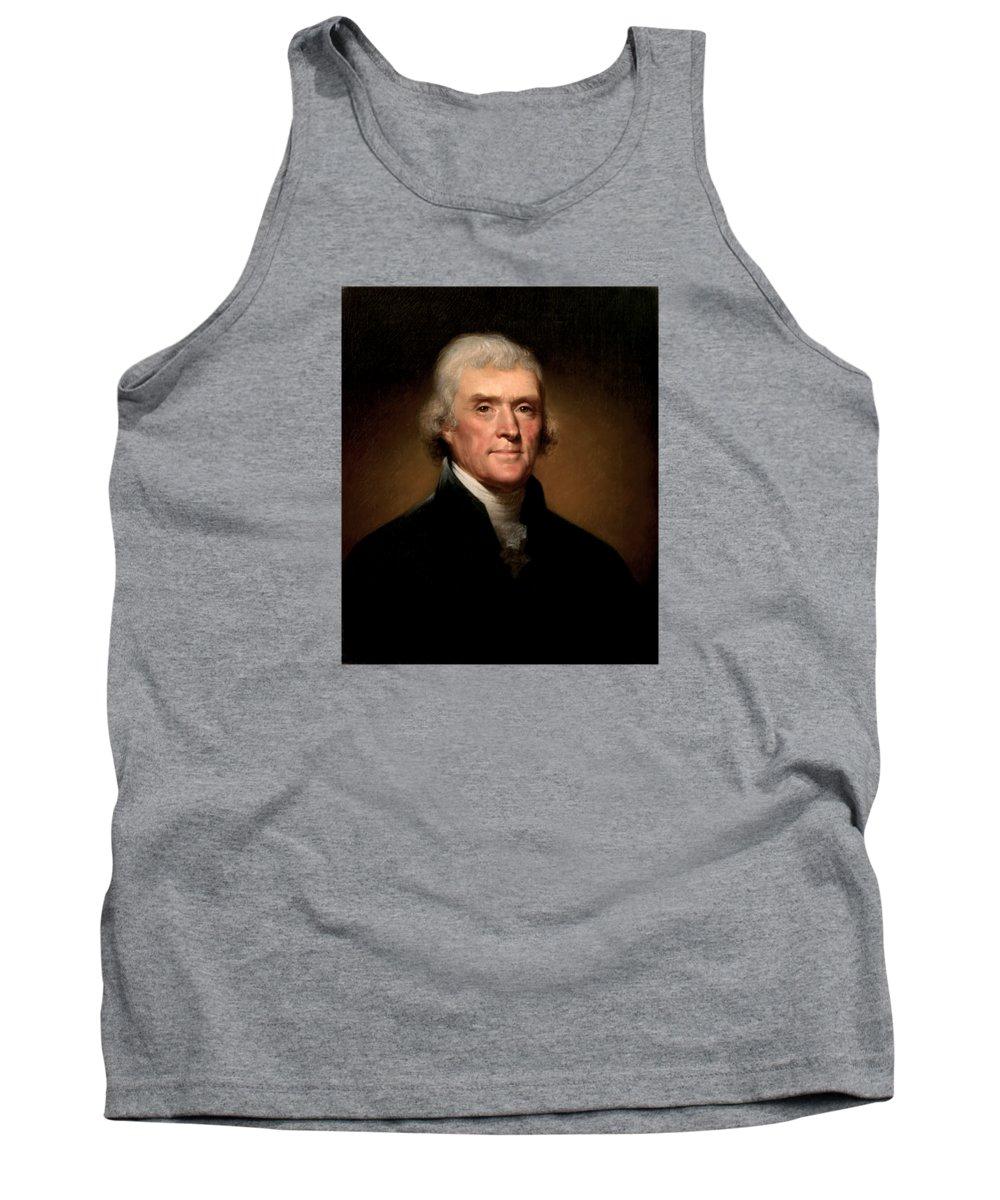 Thomas Jefferson Tank Tops