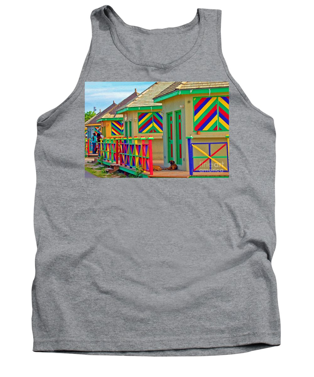 Vivid Tank Top featuring the photograph Primary Colors by Debbi Granruth