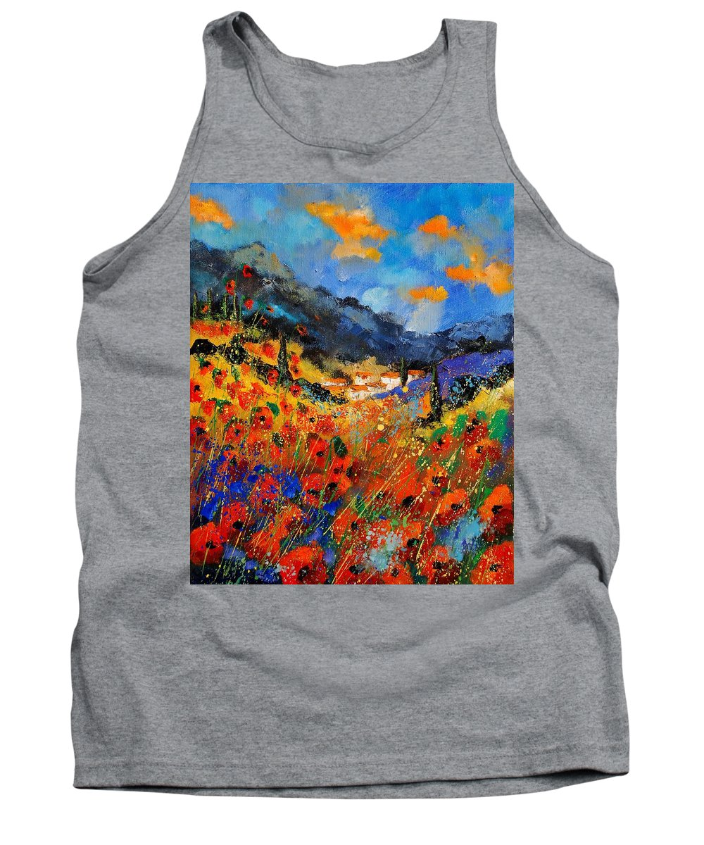 Tank Top featuring the painting Provence 459020 by Pol Ledent