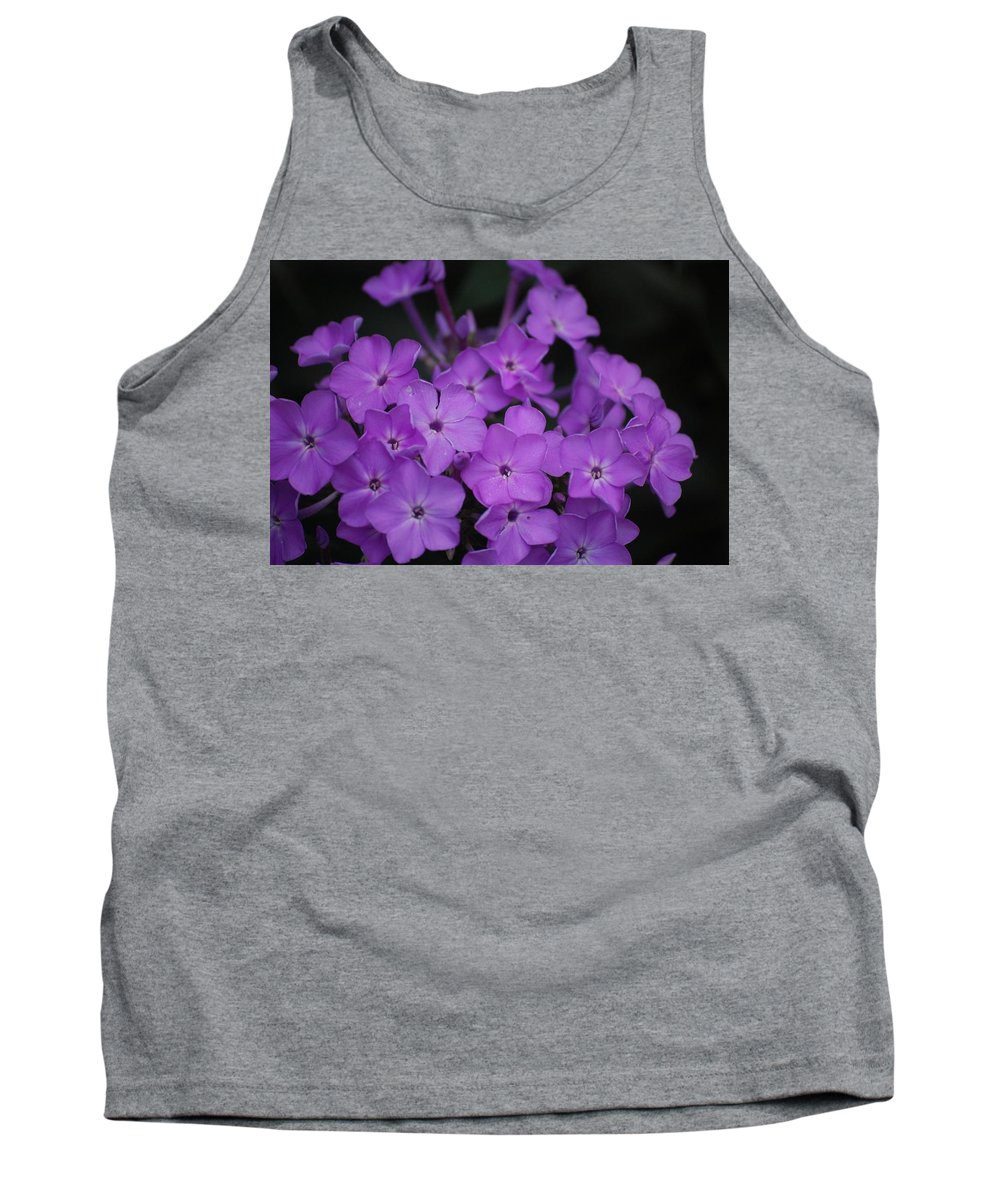Digital Photo Tank Top featuring the photograph Purple Blossoms by David Lane