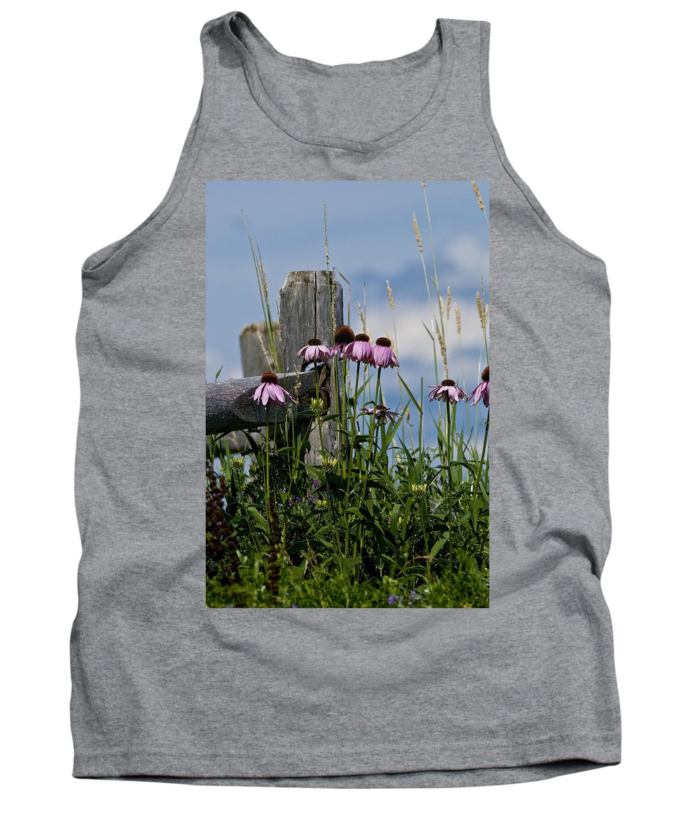 Echinacea Tank Top featuring the photograph Purple Cone Flower by Michael Cummings