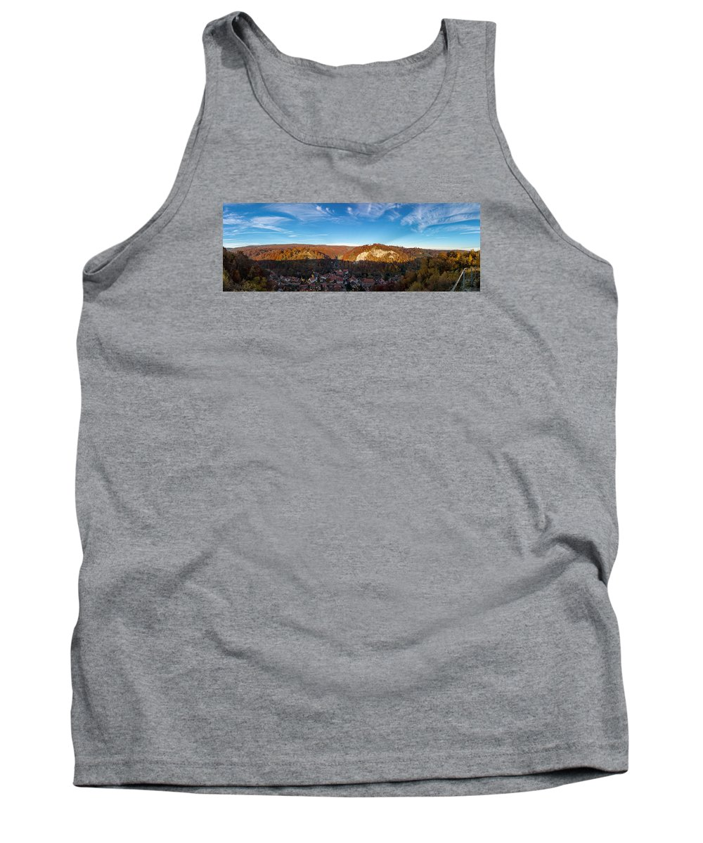 Questenberg Tank Top featuring the photograph Questenberg, Suedharz by Andreas Levi