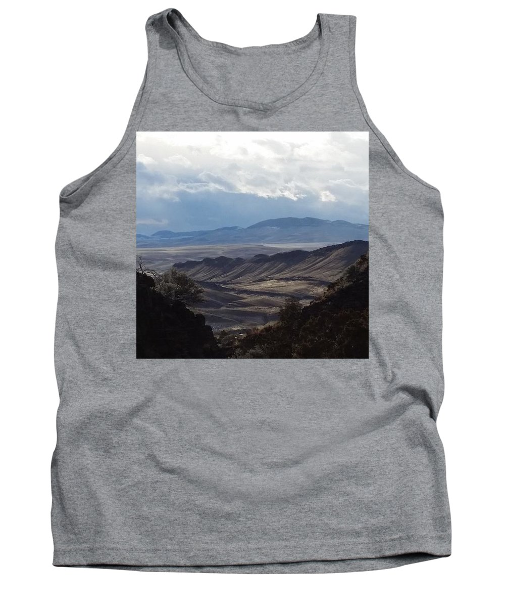 Landscape Tank Top featuring the photograph Quietly Lookin Out by Fred Kamps