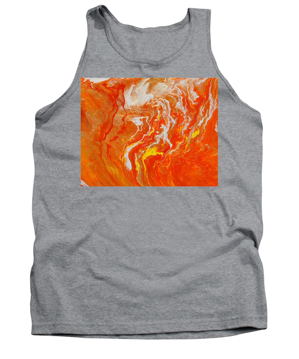 Fusionart Tank Top featuring the painting Radiance by Ralph White
