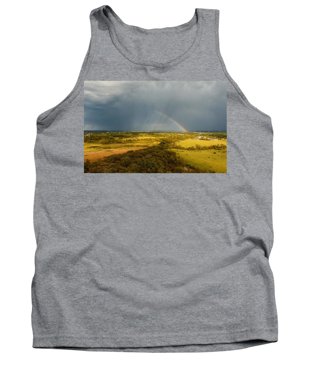 Havenwood Tank Top featuring the photograph Rainbow by Steve Bell