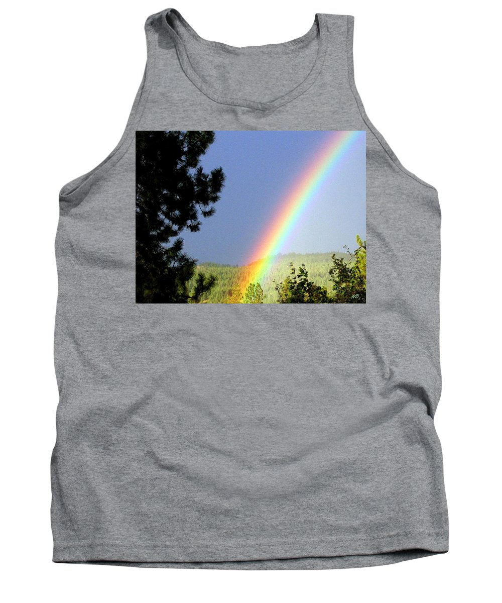 Rainbow Tank Top featuring the photograph Rainbow Covenant by Will Borden