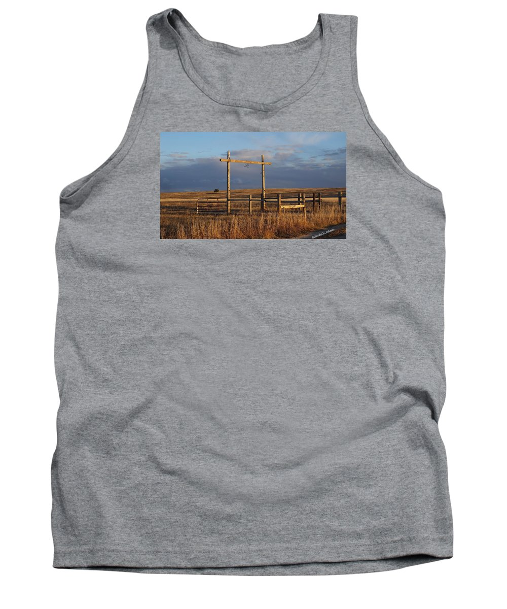 Tank Top featuring the photograph Ranch by Ricco Adams