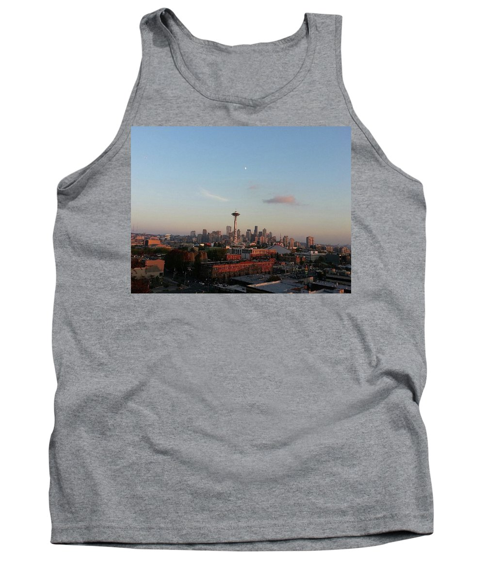 Seattle Tank Top featuring the photograph Reach For The Moon by AnaJyhv AnderDot