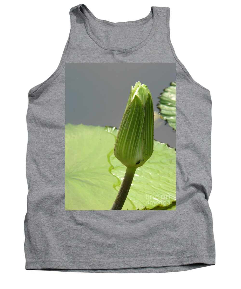 Lilly Tank Top featuring the photograph Ready To Bloom by Amanda Barcon