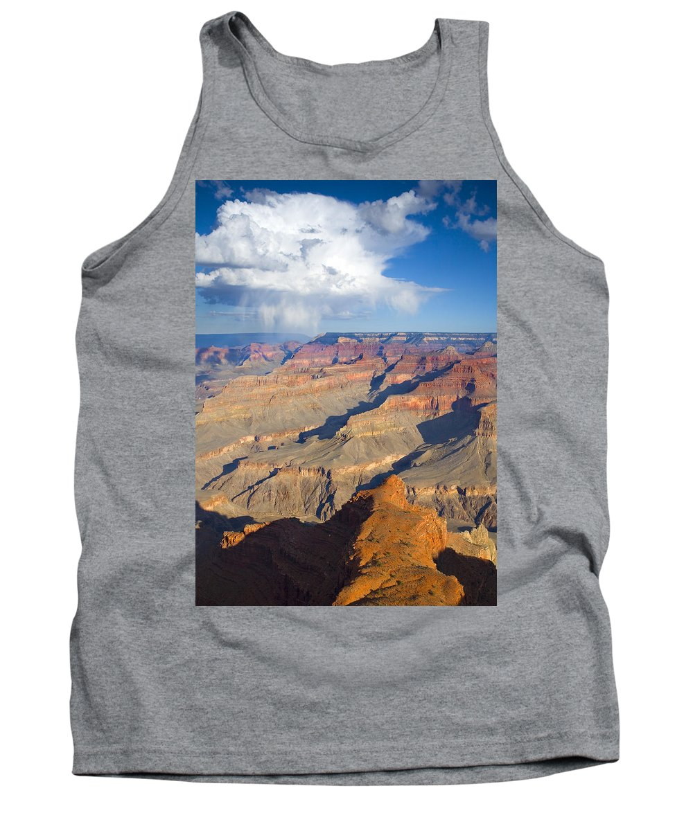 Grand Canyon Tank Top featuring the photograph Red Storm Rising by Mike Dawson