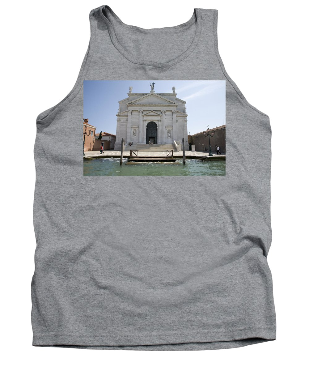 Redentore Tank Top featuring the photograph Redentore Church In Venice by Ian Middleton