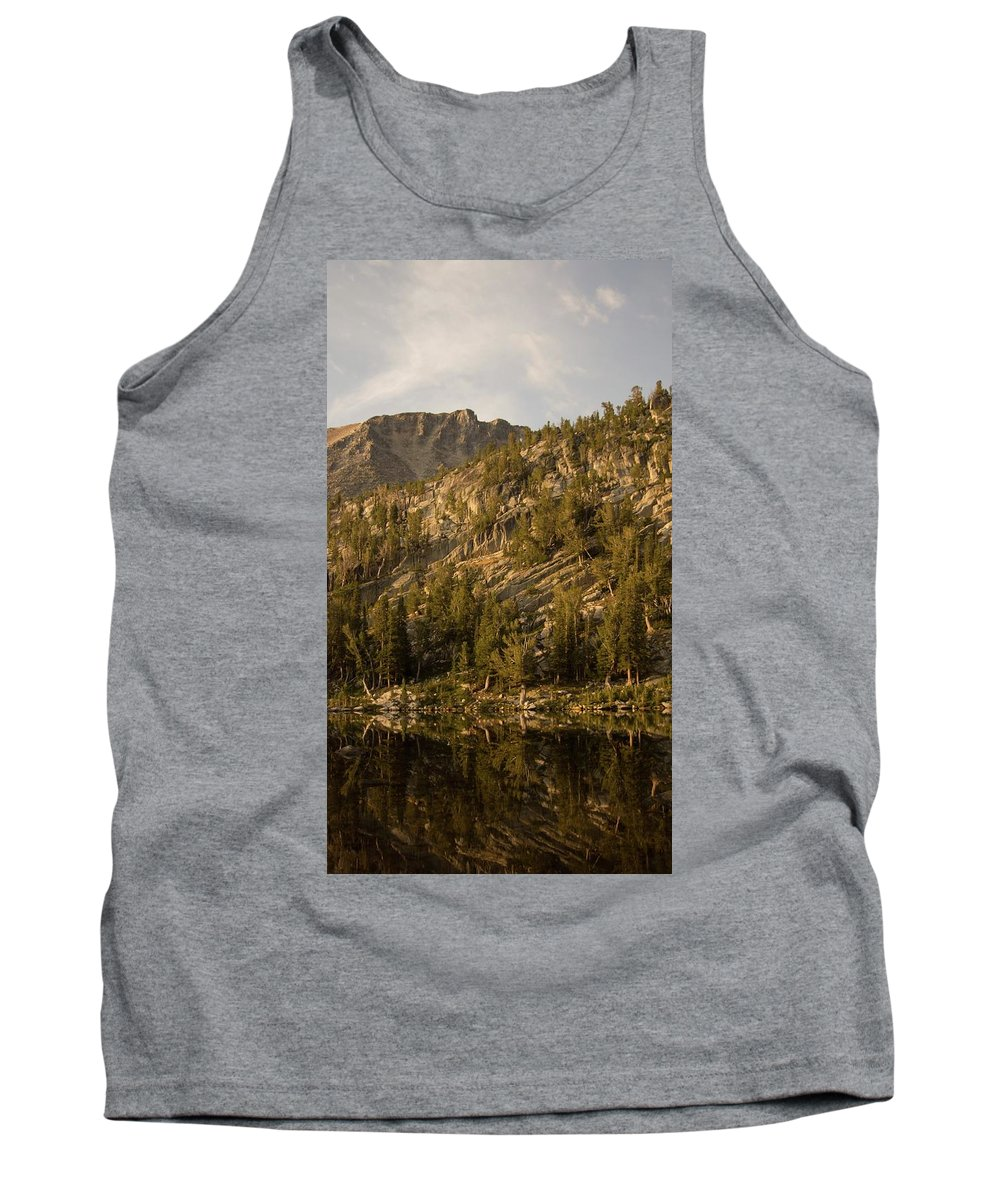Light Tank Top featuring the photograph Reflecting Thoughts by Peter Mora-Stevens