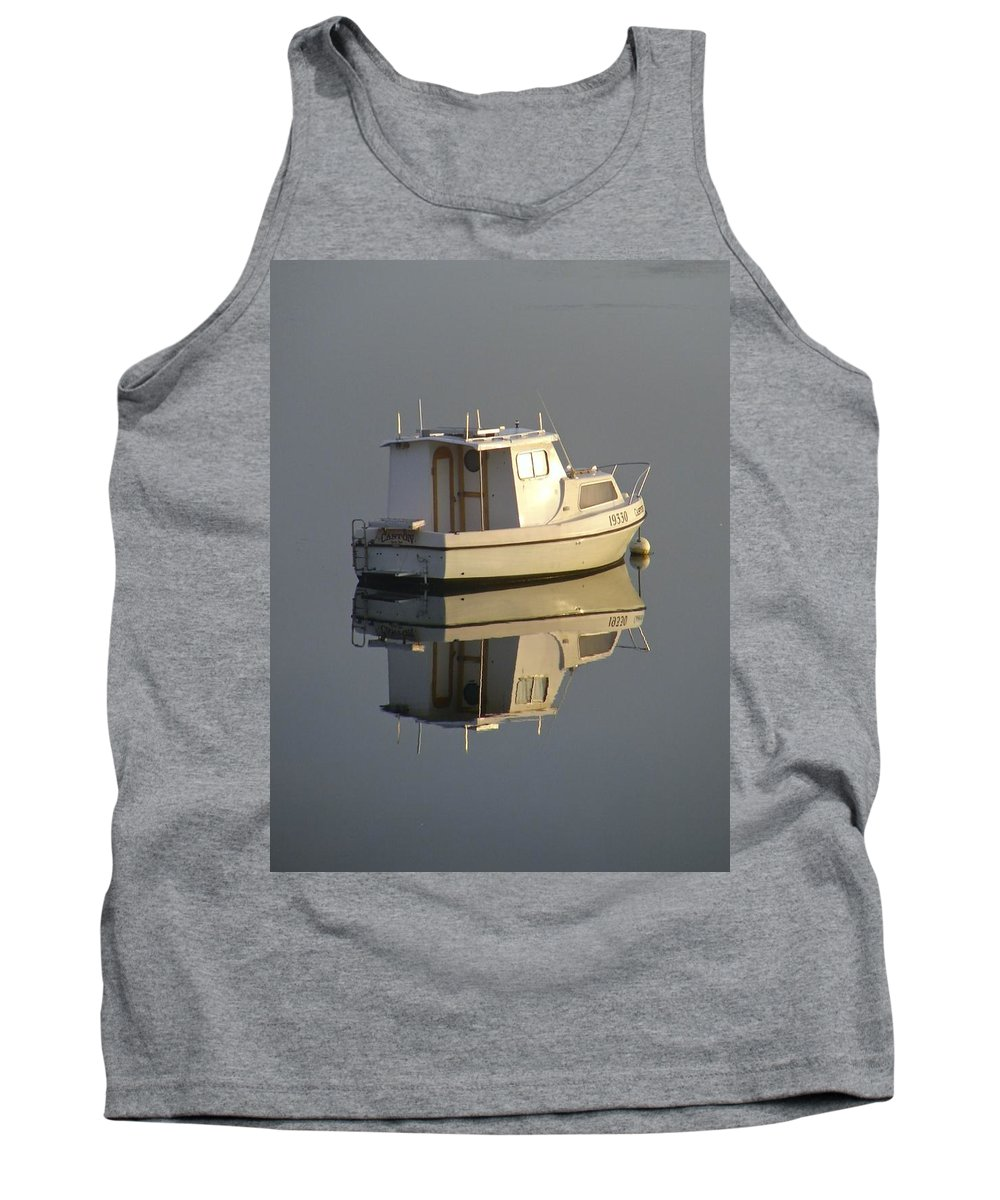 Reflection Tank Top featuring the photograph Reflection by Kathryn Potempski