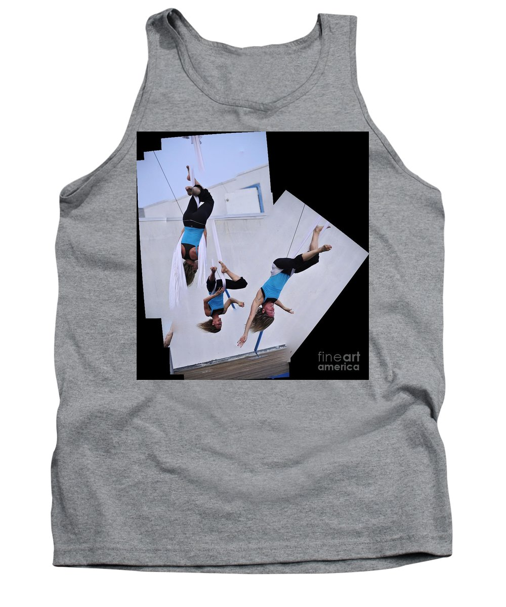 Clay Tank Top featuring the photograph Rehearsing by Clayton Bruster