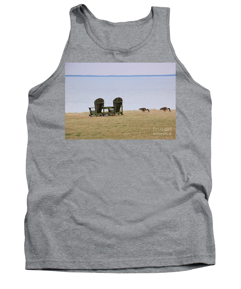 Chairs Tank Top featuring the photograph Relax by Debbi Granruth