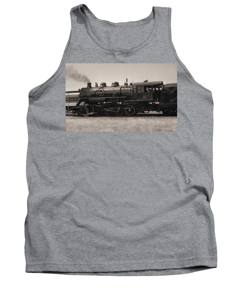 Americana Tank Top featuring the photograph Reverse Throttle by Richard Rizzo