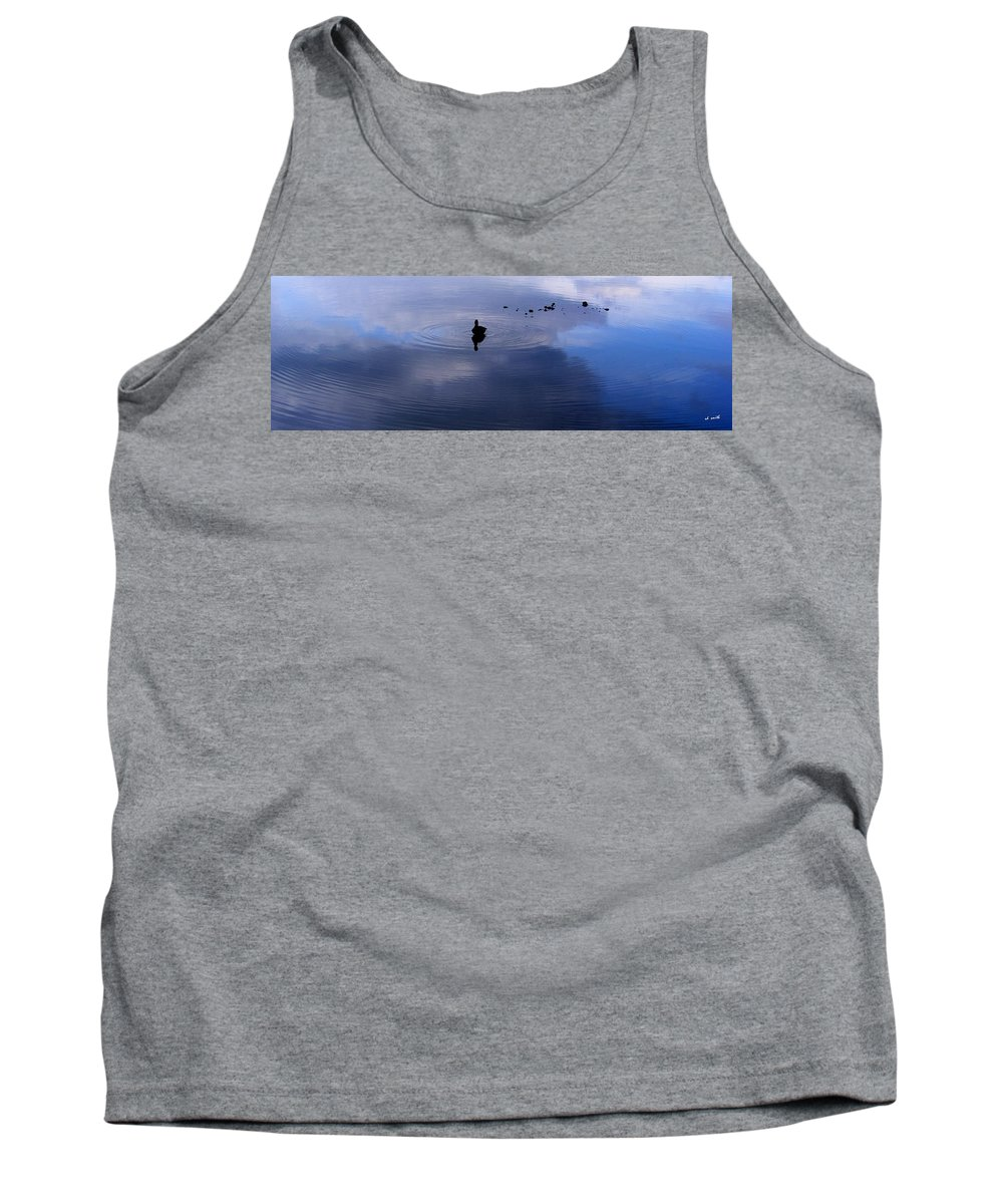 Ripples Tank Top featuring the photograph Ripples by Ed Smith