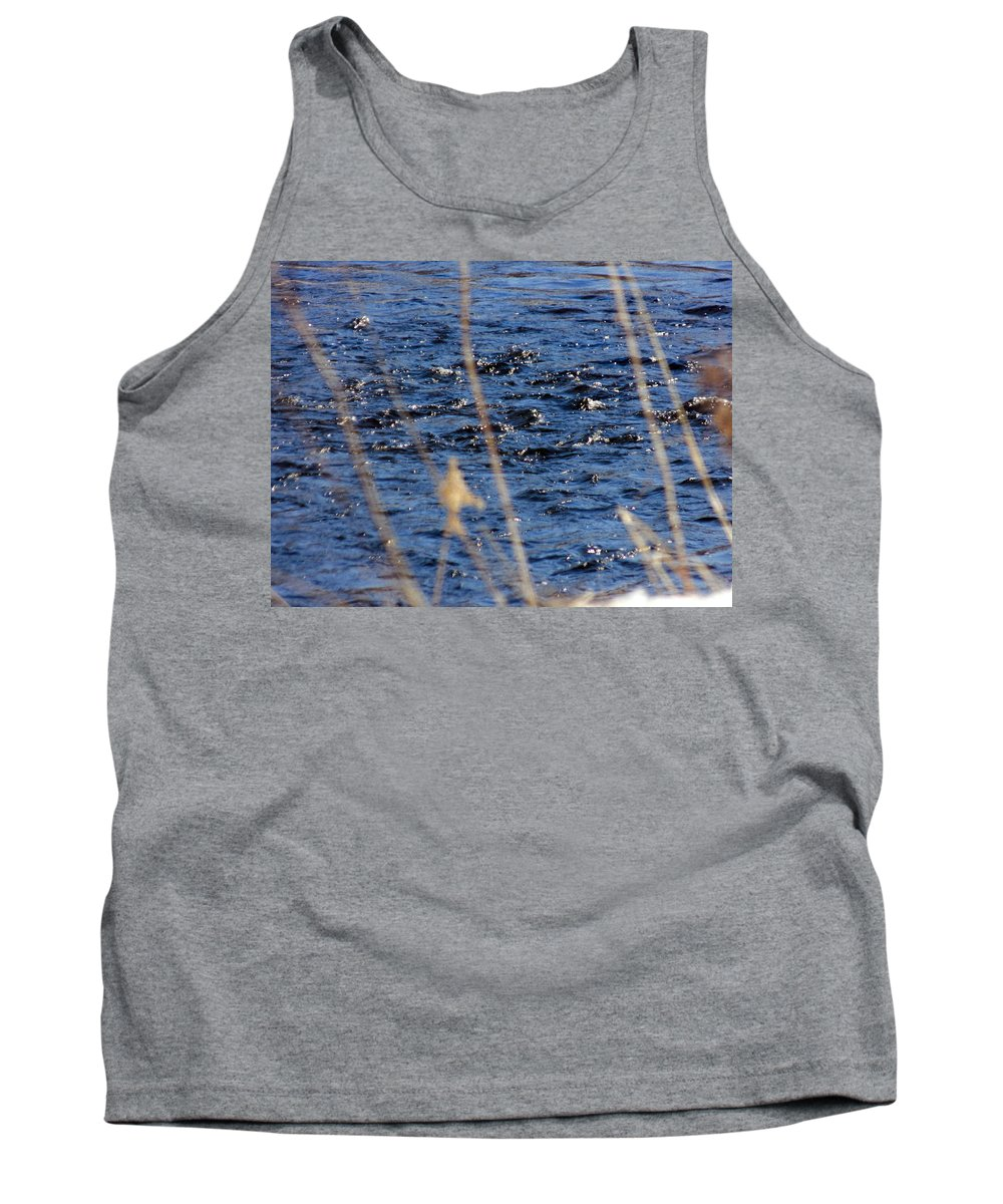 River Tank Top featuring the photograph River Ripples by William Tasker