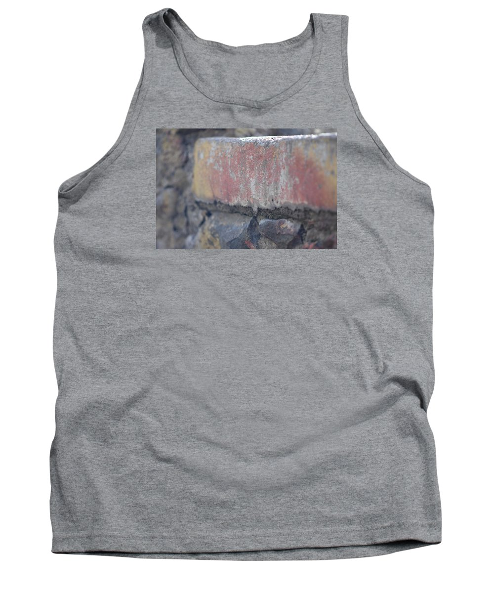 Vintage Tank Top featuring the photograph Rock Ledge by Sharon Wunder Photography
