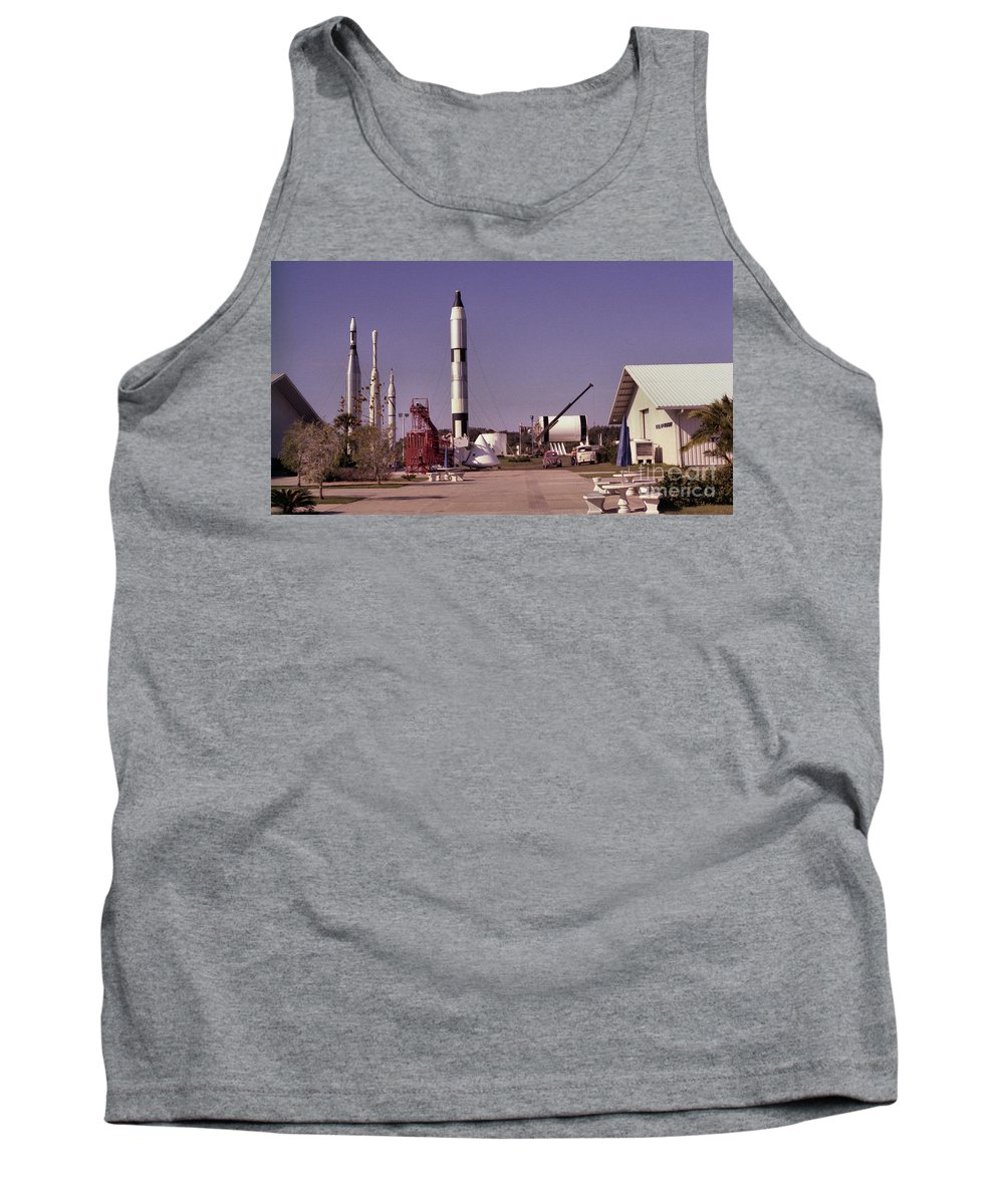 Rocket Tank Top featuring the photograph Rocket Garden by Richard Rizzo