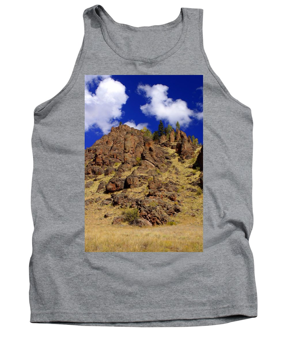Colorado Tank Top featuring the photograph Rocky Butte by Marty Koch