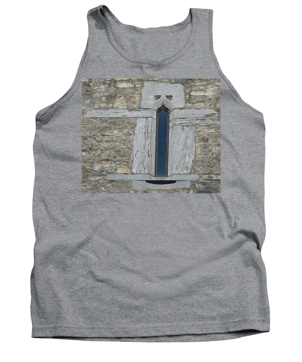 Ross Castle Tank Top featuring the photograph Ross Castle by Kelly Mezzapelle