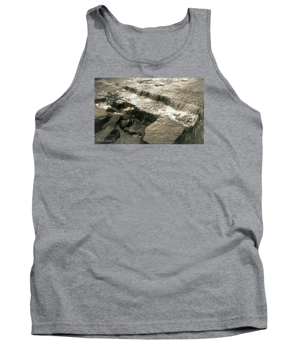 Water Tank Top featuring the photograph Runing Water by Miss Elizabeth Photography