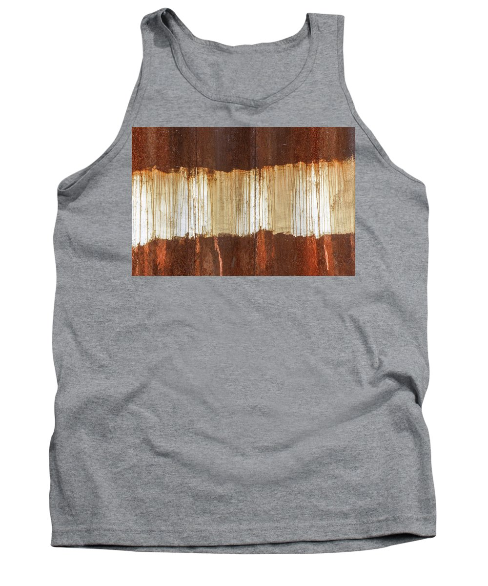 Abstract Tank Top featuring the photograph Rust 04 by Richard Nixon
