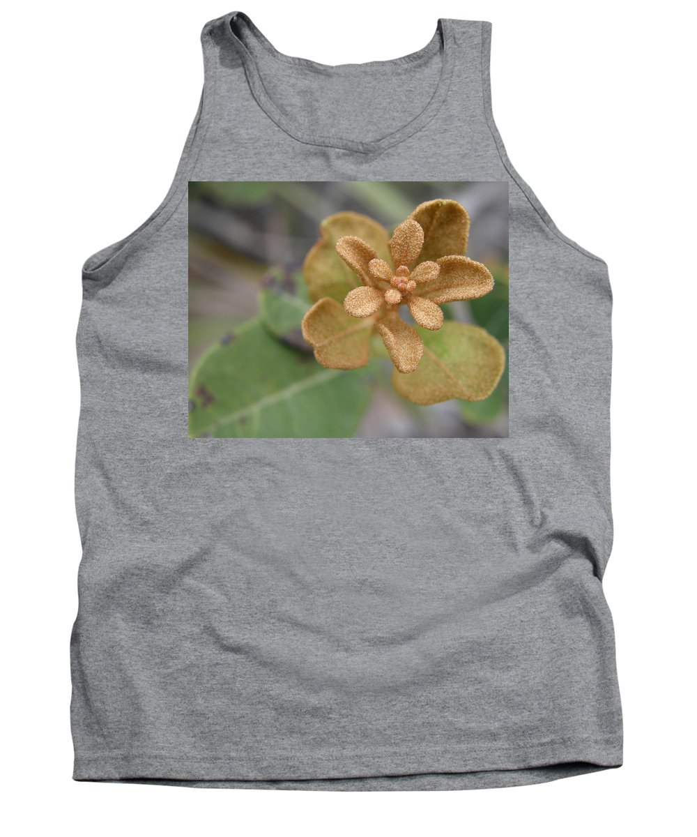 Plant Tank Top featuring the photograph Rusty Lyonia by Kimberly Mohlenhoff