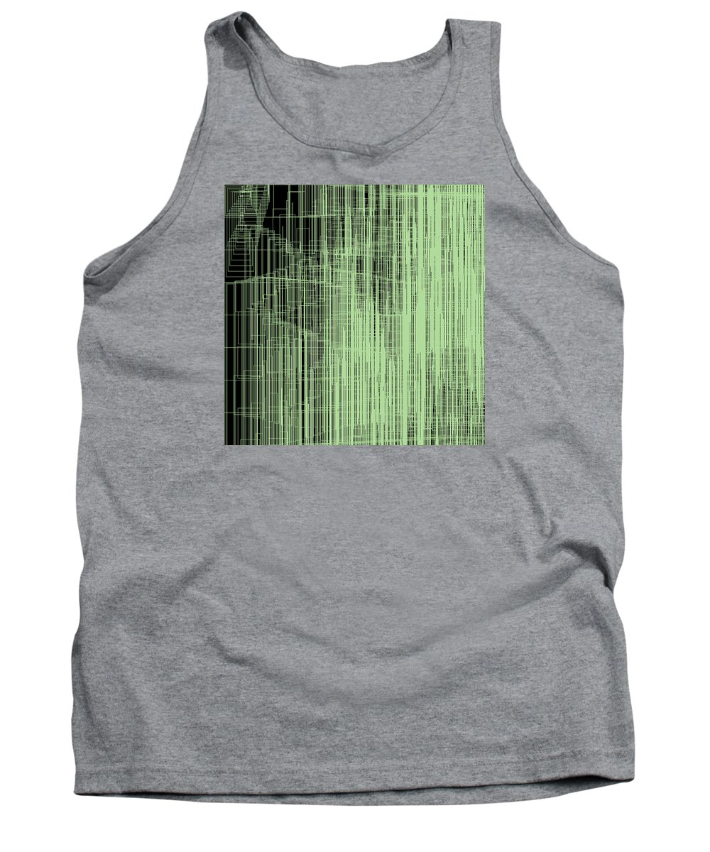 Abstract Tank Top featuring the digital art S.2.32 by Gareth Lewis