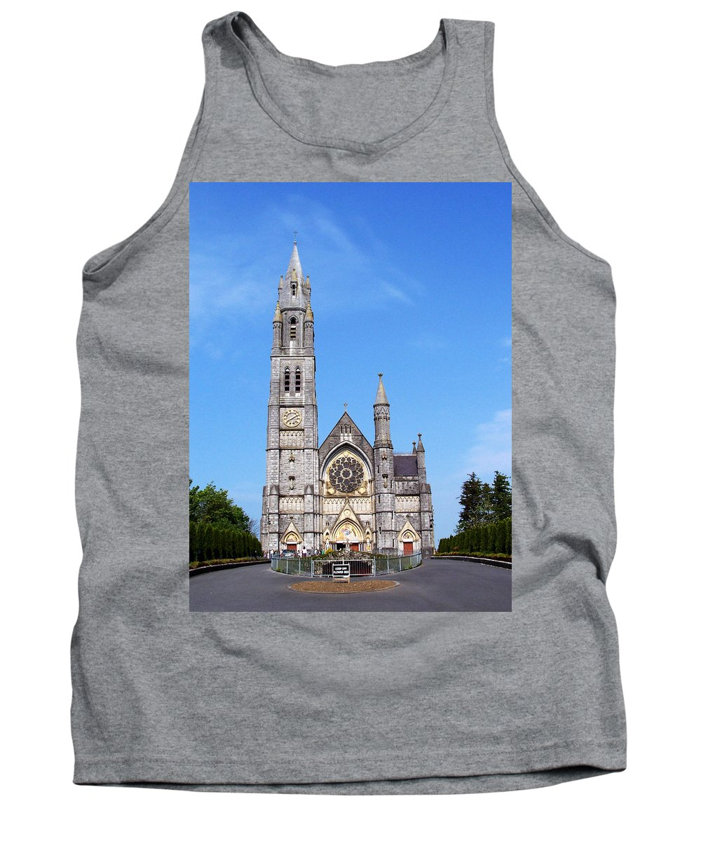 Ireland Tank Top featuring the photograph Sacred Heart Church Roscommon Ireland by Teresa Mucha