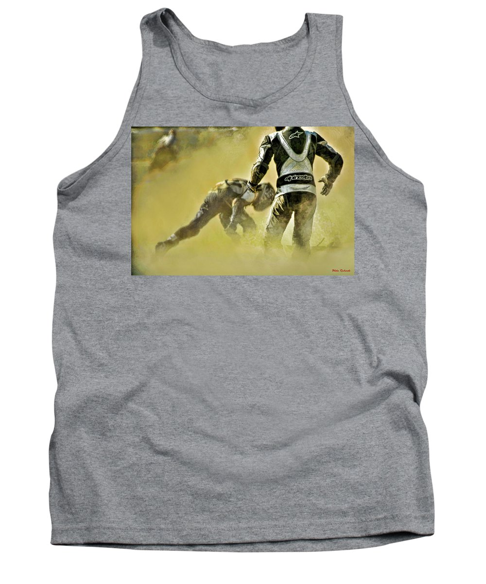 Tank Top featuring the photograph Safety First by Blake Richards