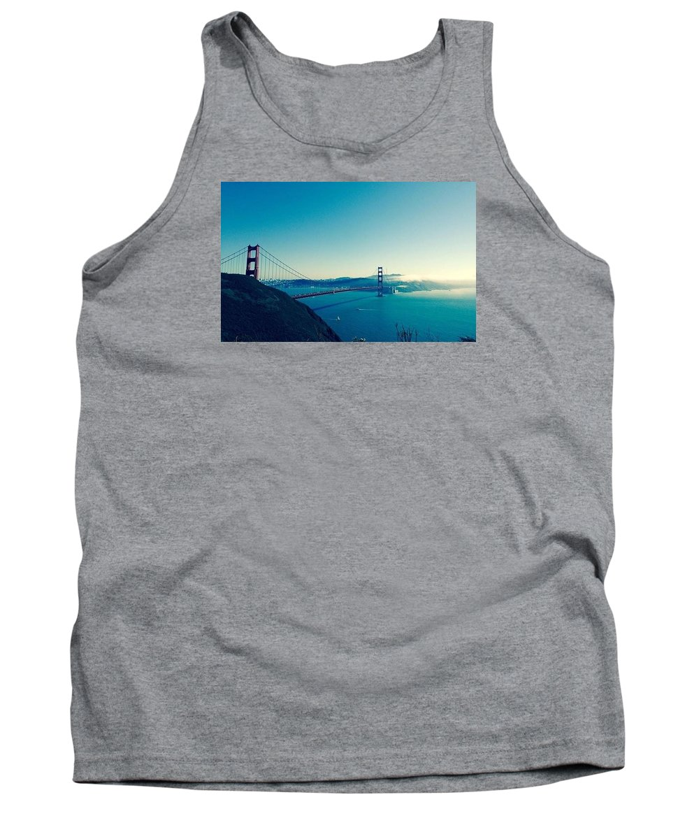 Tank Top featuring the photograph San Francisco by Marlene Galvez