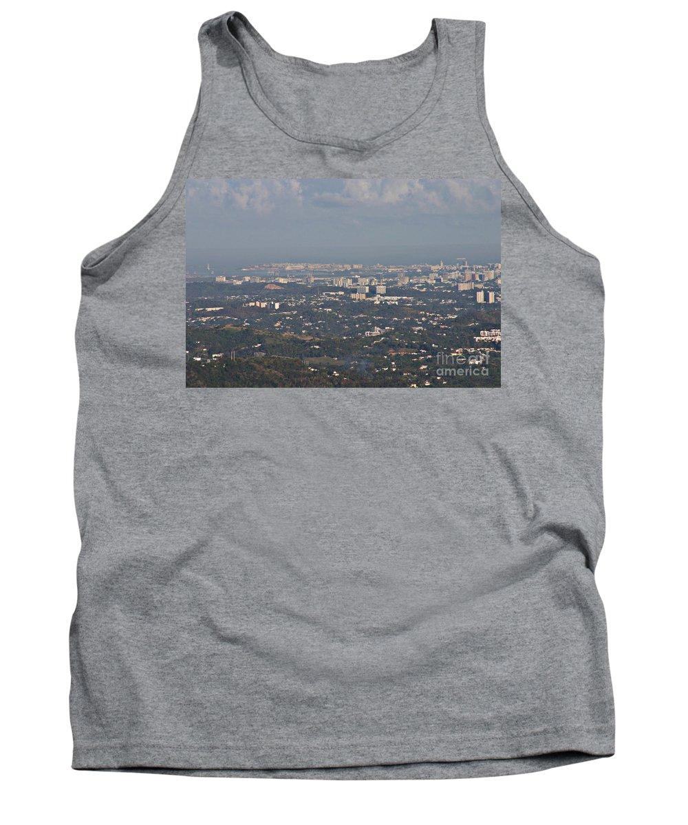 San Juan Tank Top featuring the photograph San Juan City by Gilbert
